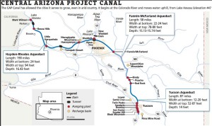 Map of the CAP System (Courtesy AZ Republic)